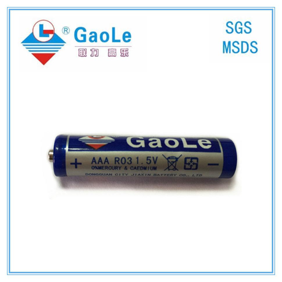 Carbon Zinc R03p AAA Battery (1PCS/shrink)