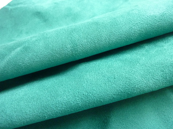 Upholstery Fabric 100% Polyester Weft Suede Fabric for Garment and Shoes