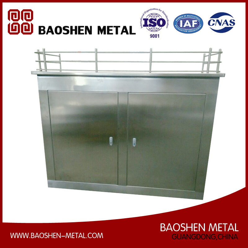 Stainless Steel Sheet Metal Forming Fabrication Machinery Parts for Box/Shell/Cabinet