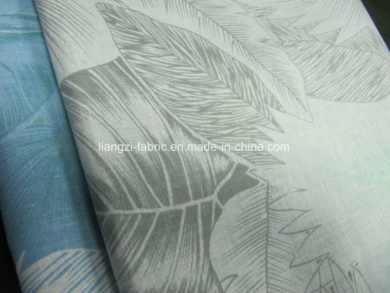 Linen Cotton Printed Fabric for Shirts