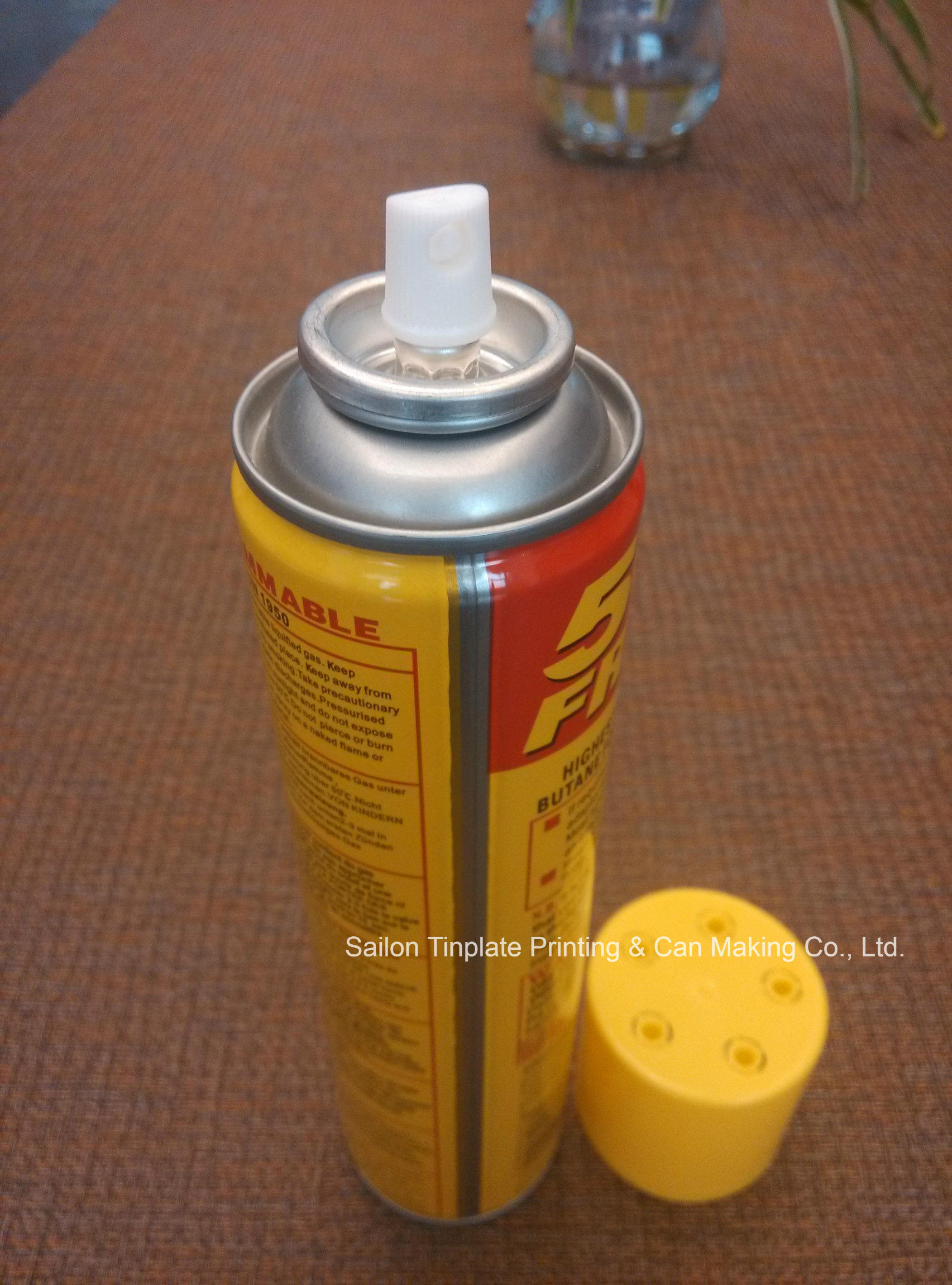 Gas Cans of Full Set with Valves and Caps