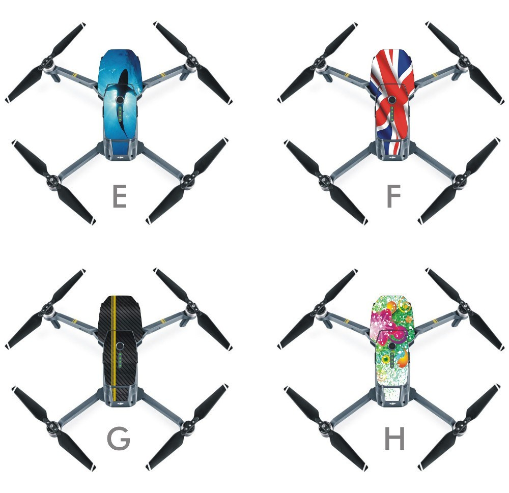 PVC Waterproof Stickers Skin Decals for Dji Mavic-PRO Mavic Parts