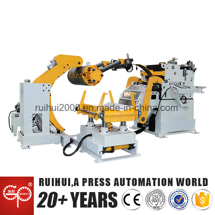 Automation Straightener with Feeder and Uncoiler Using in Press Machine