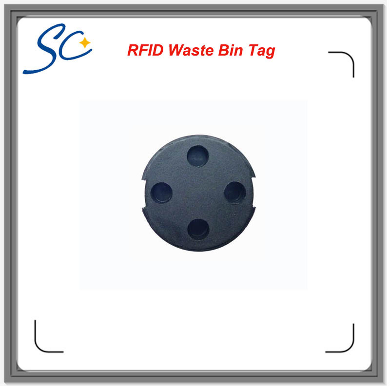 RFID Tag for Dustbin ID Tracking Smart Management