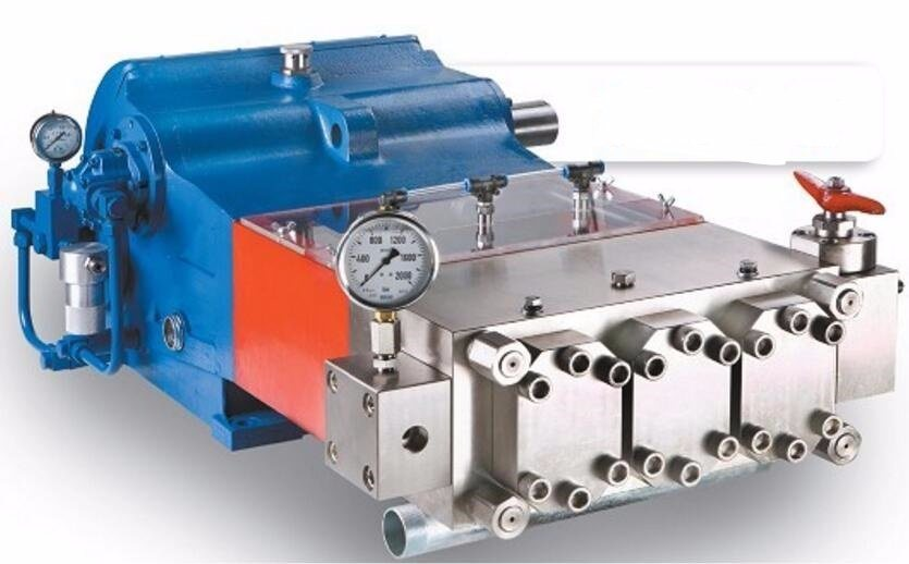High Pressure Plunger Pump (Maximum pressure 1500bar)