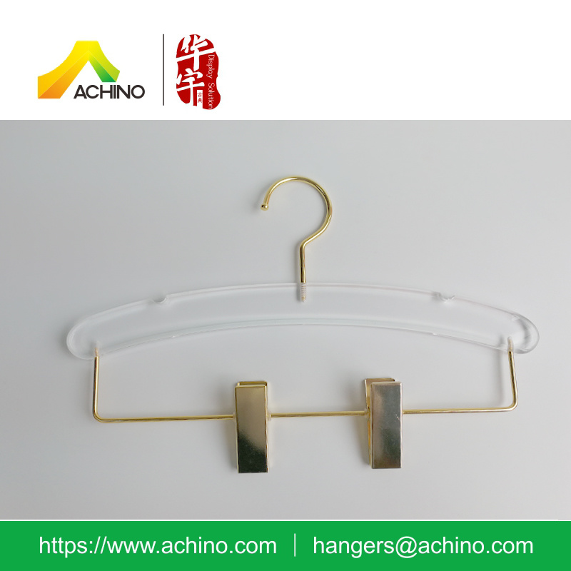New Acrylic Skirt Hanger with Notches (ACPH200)