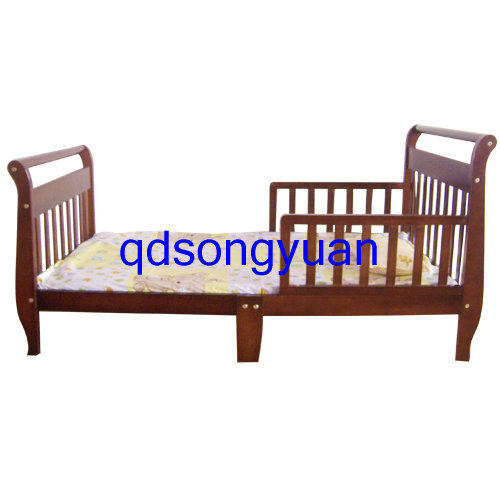 China Wooden Toddler Bed Sy372