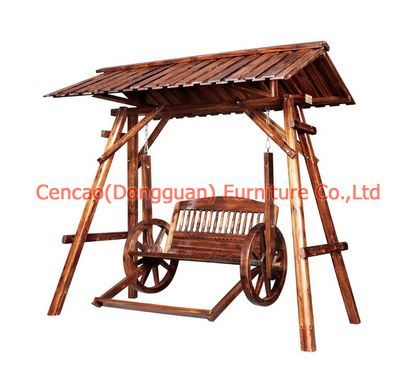 china garden furnitur e wooden swing chair sc y013 1