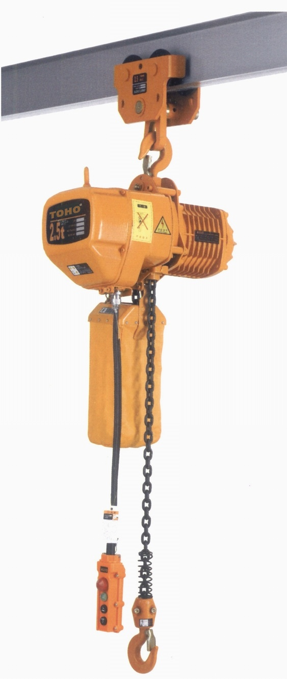 Hhb Series Electric Chain Hoist With Manual Trolley