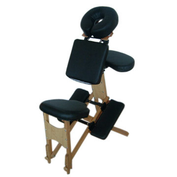 China wooden portable massage chair y004 china massage chair massager - Portable reflexology chair ...