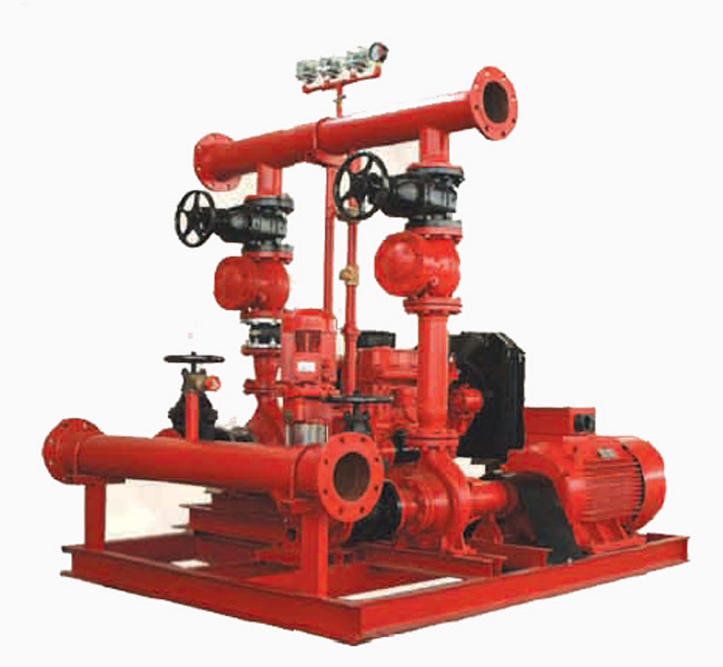 Fire Pump Packaged (XBC+XBD)