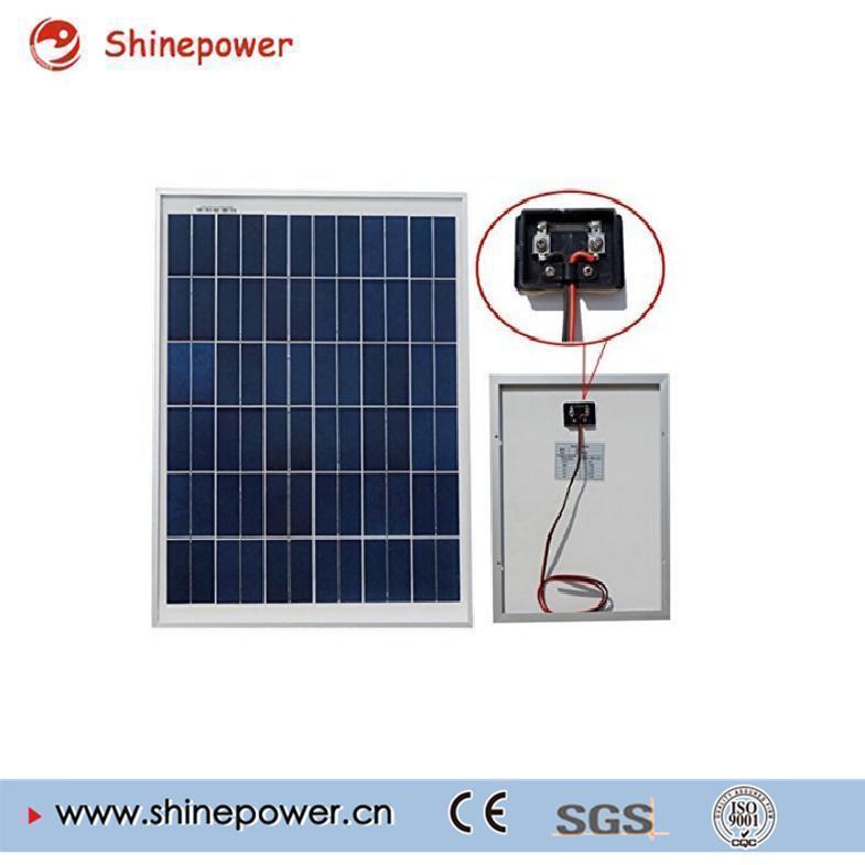 20 Watt Polycrystalline Solar Module for LED Light.