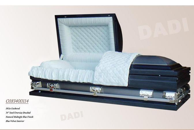 American Style Oversize Coffin (18340114)