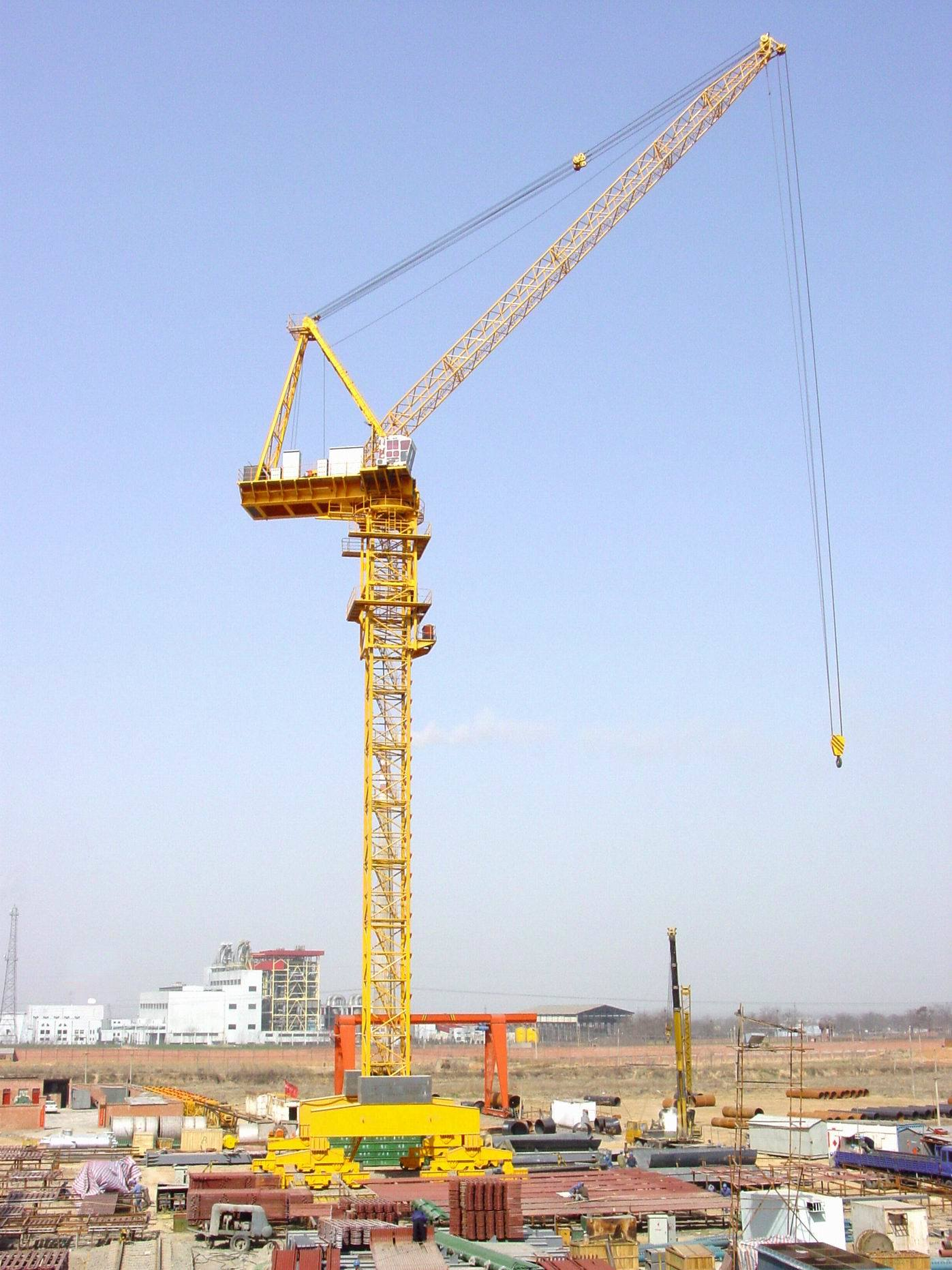 China fzq660 tower crane china tower crane cranes for The crain