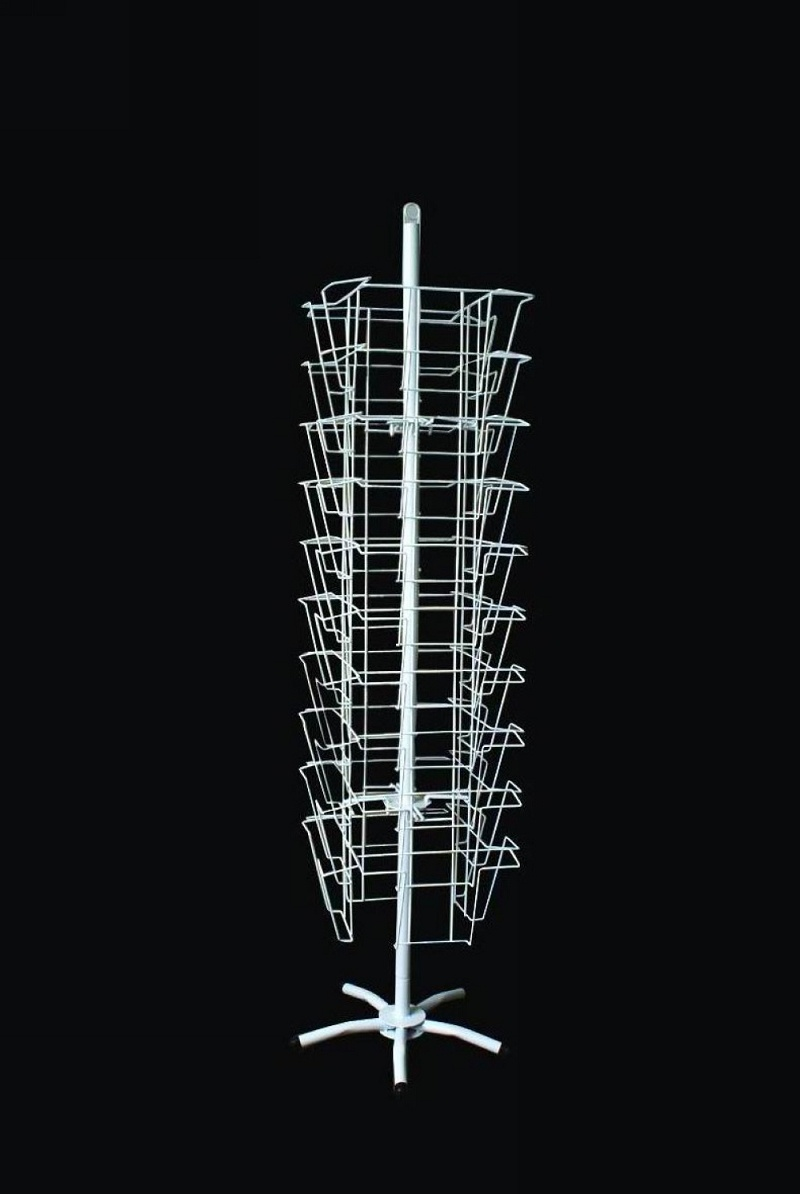 Craft Show Display Racks Wire : China arts and crafts four face rotating display rack