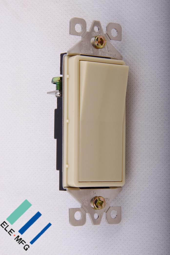 China single pole decorative rocker switch 15a 120 277v for Unique switches