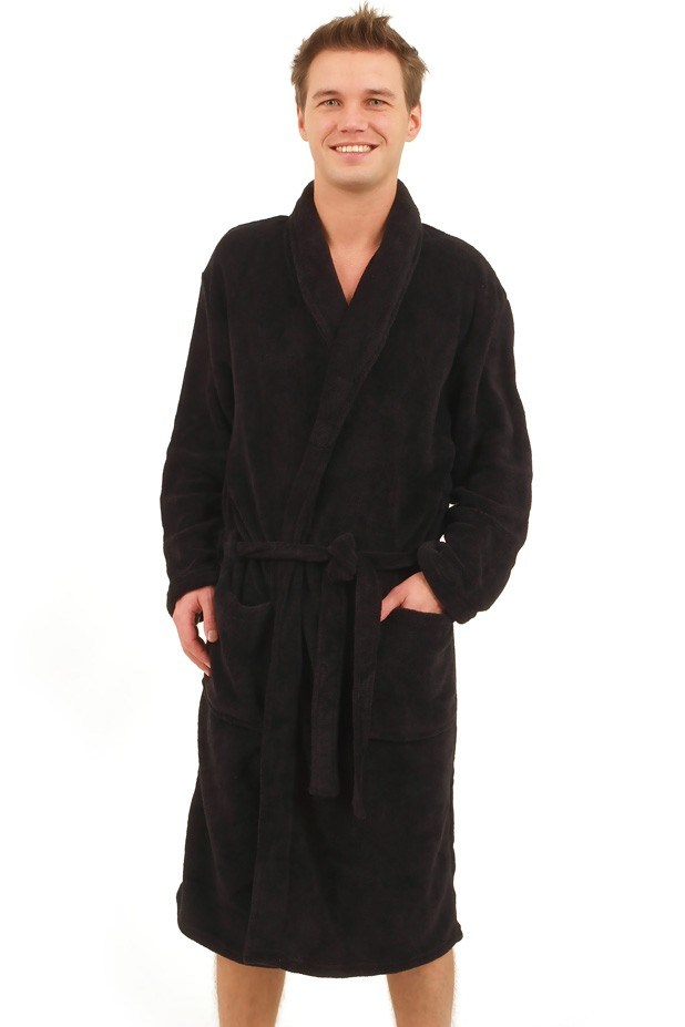 mens hooded terry cloth robe car interior design. Black Bedroom Furniture Sets. Home Design Ideas