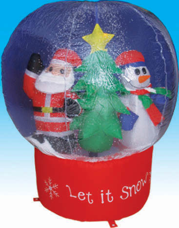 China christmas inflatable snow globe my 841 china christmas