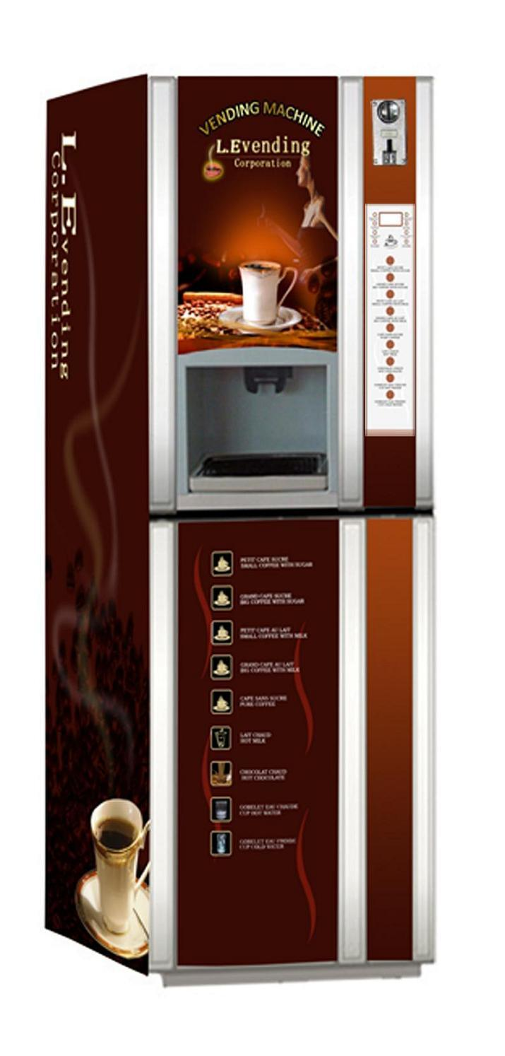 Fully-Automatic Hot Coffee Vending Machine (F306HX) Photos & Pictures