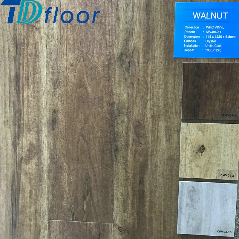 Waterproof WPC Floor Wood Plastic Composite Flooring