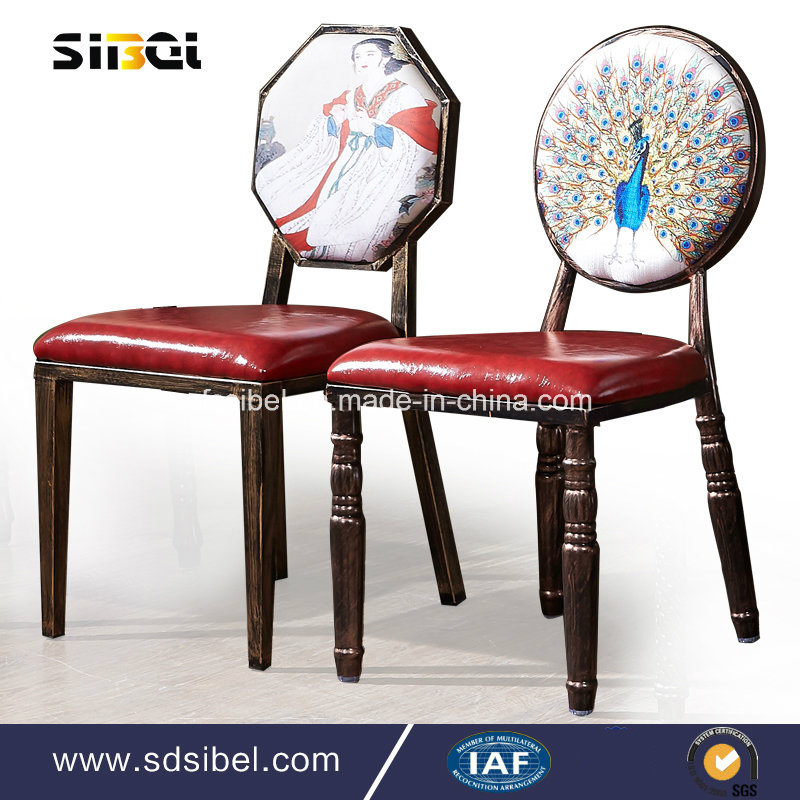 2017 Wholesale Hotel Reastaurant Banquet Dining Metal Chair (SBE-CY0312)