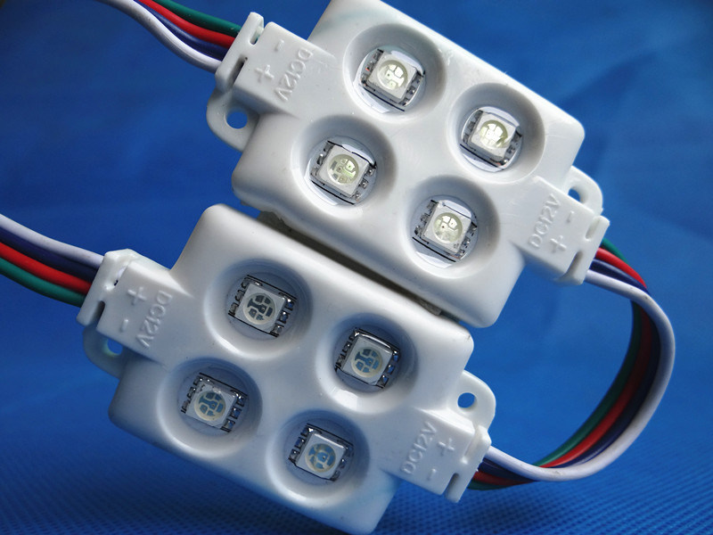 SMD Injection LED RGB Module Waterproof 5730 LED Module with Lens