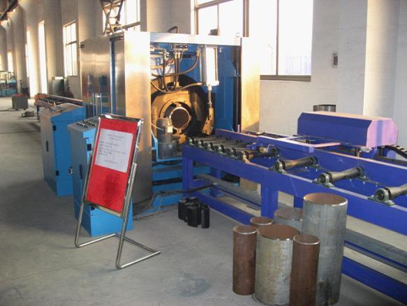 High Speed Pipe Cutting & Beveling Machine
