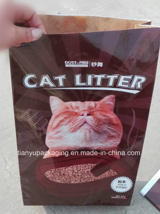 Cat Litter Paper Bag Multilayer Paper Packaging Kraft Bag