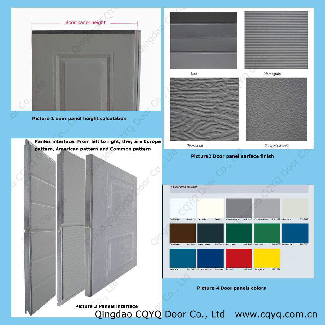 1050 #CAB001 China Door Panel And Color Sectional Garage Door China Wind  pic Garage Doors Colors 37511050
