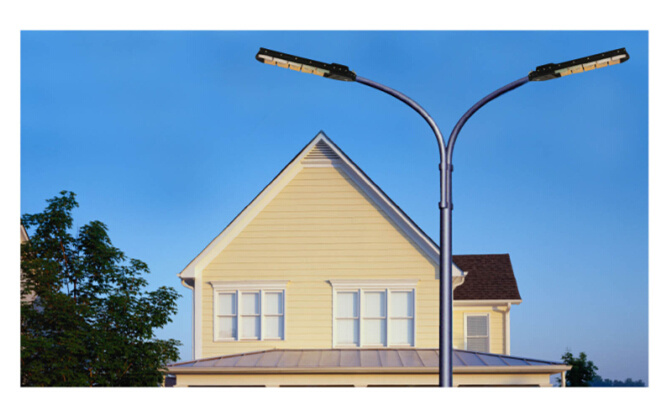 160W LED Street Light, High Brightness Bridgelux Chip, Meanwell Driver Waterproof IP67