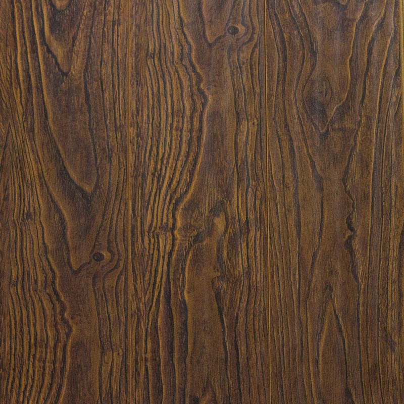 U Goove Mould Pressed Laminate Flooring Handscraped Vein Series 6612