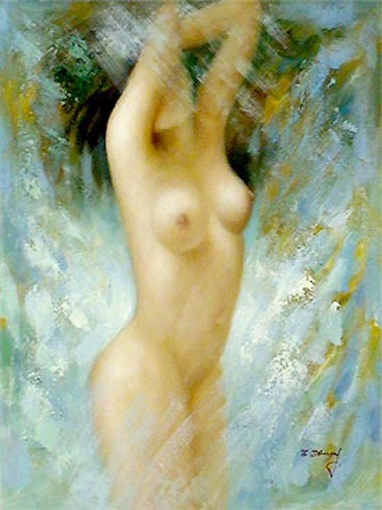 Nude Oil Paintings On Canvas (NUD50)