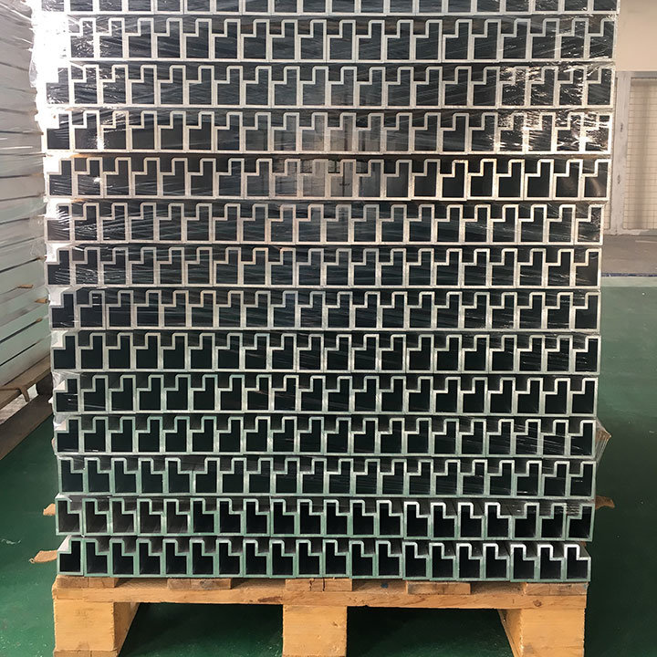 H-Shape Aluminum Extrusion Pipe for Ladder Frame