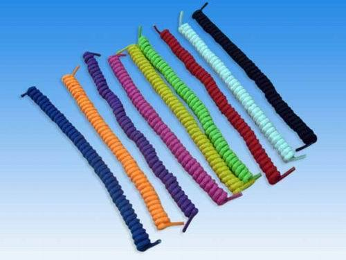 China Spiral Shoelace - China Polyester Shoe Lace, Cotton ...