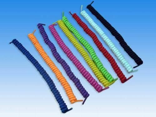 Spiral Elastic Shoe Laces