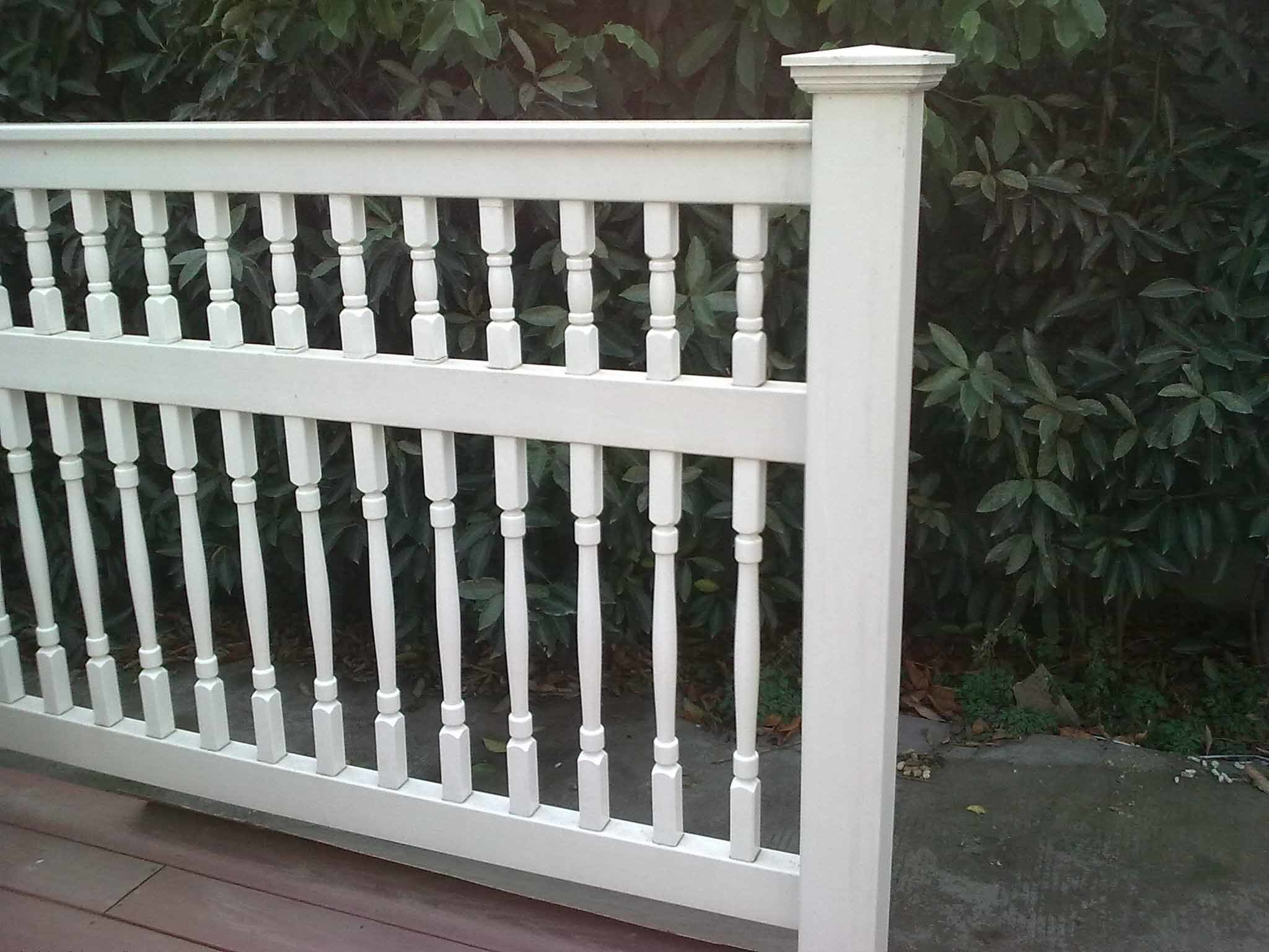 china uv resistance pvc balustrade bl 2 china pvc handrail barrier. Black Bedroom Furniture Sets. Home Design Ideas