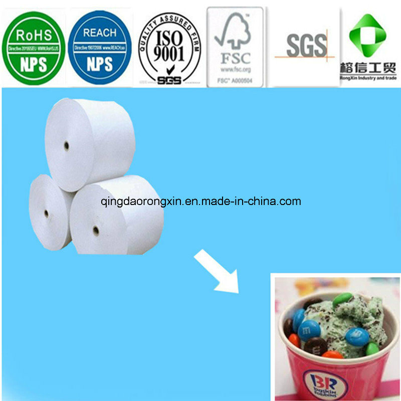 PE Coated Paper for Ice Cream Packaging Cup