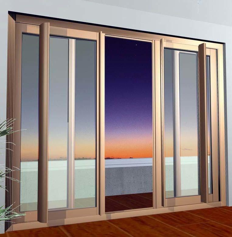 Aluminium Sliding Doors 763 x 778