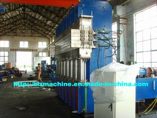 Strip Precured Tire Tread Vulcanizing Press (model xlb-500x4000x5)