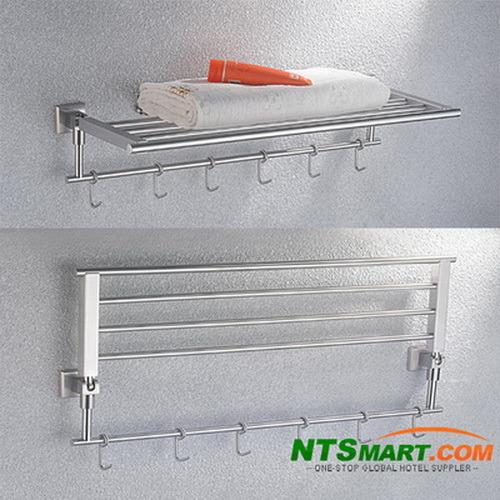 Bathroom Fitting-Double Bath Towel Shelf (N000007717)