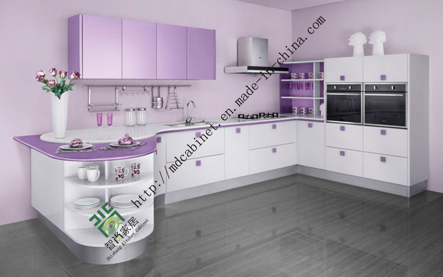 Superb img of  Wood Kitchen Cabinets Mdf Kitchen Cabinets Stainless Steel Kitchen with #2F673E color and 1417x886 pixels