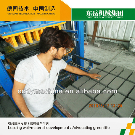 Automatic Concrete Block Machine Qt10-15 Automatic Cement Hollow Block Machine