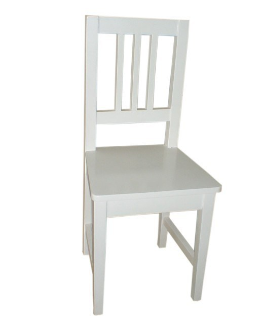 Marvelous White Wooden Desk Chair