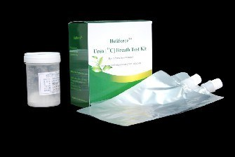H. Pylori Rapid Test Kit Urea Breath Test Kit - Heliforce (C13)