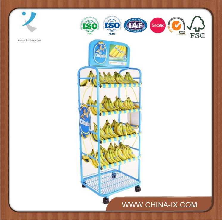 Customized Metal Wire Display Supermarket Rack