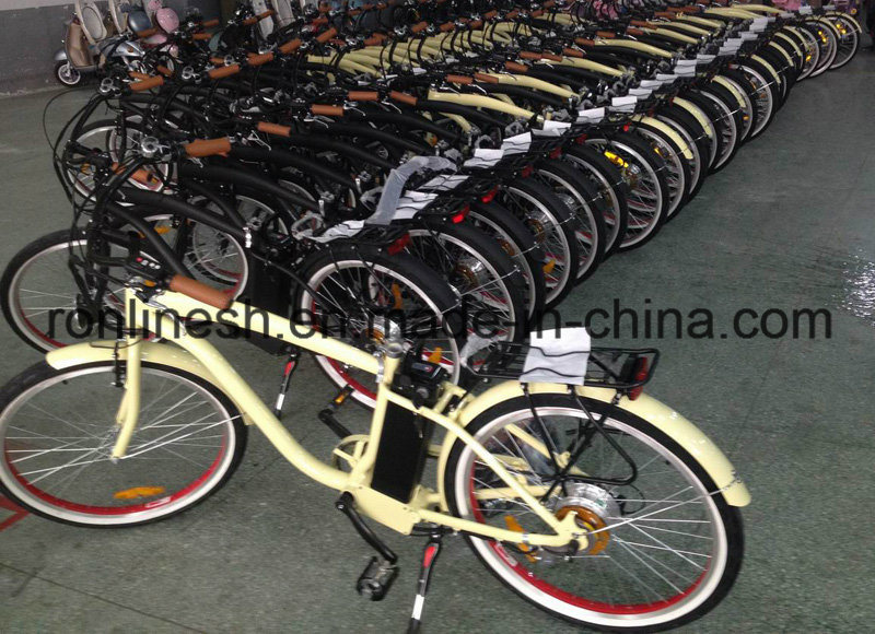 Vintage/Retro/Holland Style 200W/250W/350W E Bike/Pedalec/Electric Bicycle/Electric Bike/E Bicycle W En15194