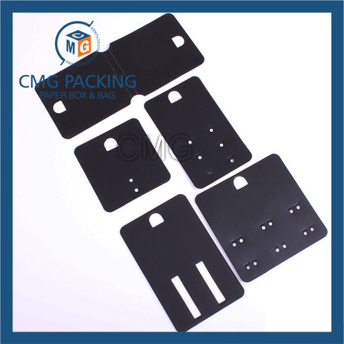 Plastic Card Custom Made Jewelry Display Tag (CMG-111)