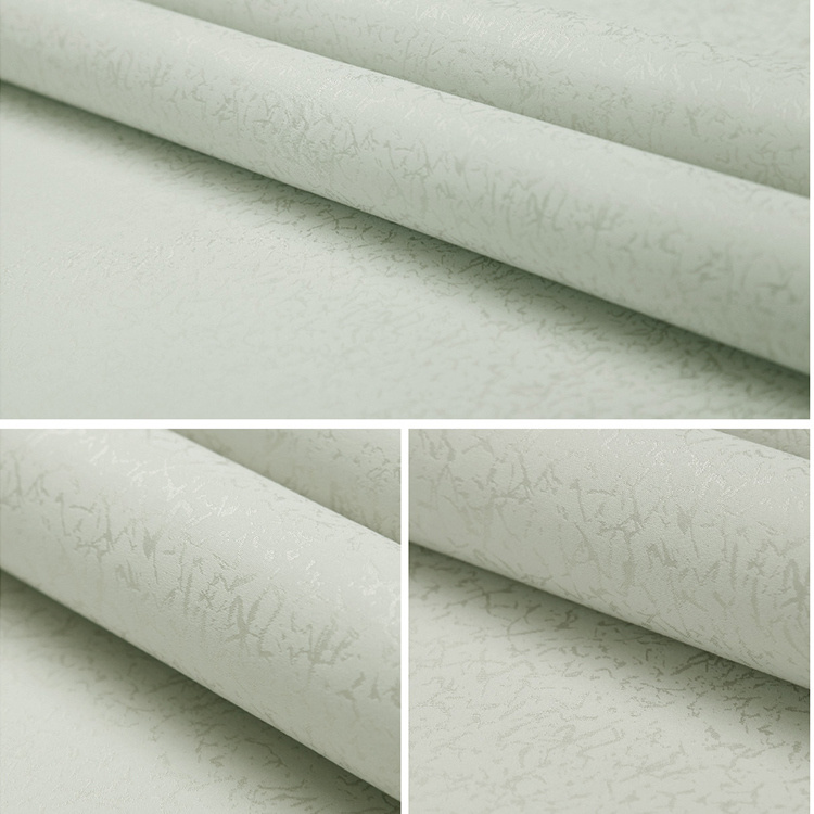 Seamless Simple Embossing Wallpaper Fabric Hotel Bedroom Livingroom Moisture-Proof