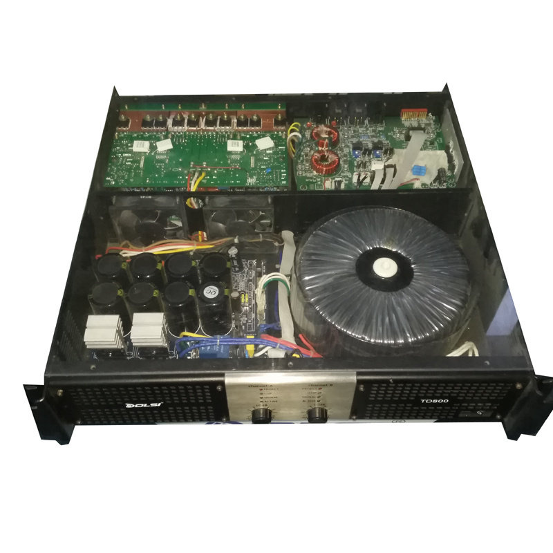 PA System Two Channel PRO Audio Professional Power Amplifier