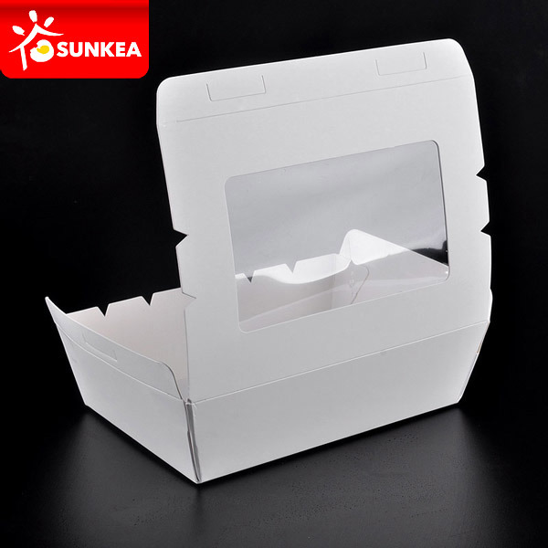 Custom Made Printed Disposable Paper Sushi Container